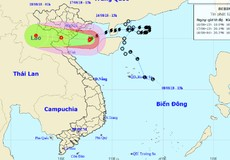 Đêm nay bão ảnh hưởng Quảng Ninh - Nghệ An, nhiều tỉnh sẽ mưa rất to