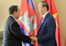 Xúc động chuyện Thủ tướng Campuchia kể về Chủ tịch nước Trần Đại Quang