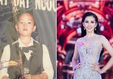 Bất ngờ hình ảnh thời thơ ấu của Hoa hậu, Á hậu Việt Nam 2018
