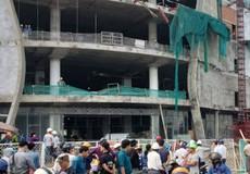 3 công nhân rơi từ công trình cao tầng xuống đất trọng thương