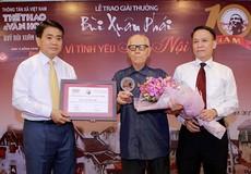 10 người được tặng danh hiệu 'Công dân Thủ đô ưu tú' năm 2018