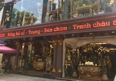 Đồ cổ châu Âu không rõ nguồn gốc bán tràn lan thị trường Hà Nội