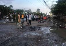 Nữ sinh thoát nạn kể vụ điện giật chết bạn học trước cổng trường