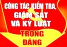 Kỷ luật Trưởng ban Tổ chức Đảng ủy cắt ghép chữ ký lãnh đạo