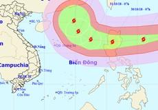 Bão siêu mạnh đe dọa, cảnh báo rủi ro cấp 3 ở Đông Bắc Biển Đông