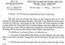 Xôn xao tin thuốc Trung Quốc 'làm từ thịt người', Cục Quản lý Dược 'lên tiếng'
