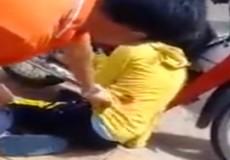 Súng CSGT phát nổ, thiếu nữ 18 tuổi trúng đạn