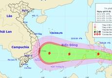 Áp thấp nhiệt đới khả năng mạnh thành bão lại hướng vào Nha Trang