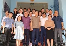 Bộ trưởng Lê Thành Long thăm Cơ quan đại diện Báo Pháp luật Việt Nam tại TP HCM