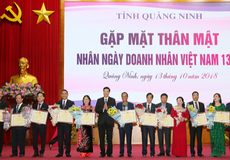 Bí thư Quảng Ninh ghi nhận những đóng góp của cộng đồng doanh nghiệp