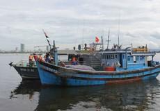 Bộ đội cứu nạn ngư dân trong bão số 3