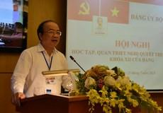 Quyết tâm đưa Nghị quyết Trung ương 7 khóa XII vào hoạt động của Bộ, ngành Tư pháp