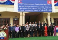 Triển khai hiệu quả Dự án 'Hỗ trợ Học viện Tư pháp quốc gia Lào'