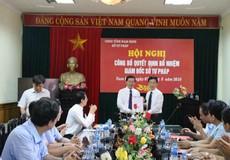 Bổ nhiệm tân Giám đốc Sở Tư pháp Nam Định