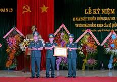 Hải đoàn 18 bộ đội Biên phòng đón Bằng khen của Bộ Quốc phòng