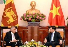 Đề nghị Sri Lanka có tiếng nói tích cực hơn trong vấn đề Biển Đông