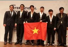 Việt Nam giành Huy chương Vàng Olympic Tin học quốc tế 2018