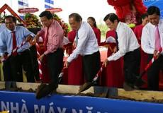 Phó Thủ tướng dự lễ khởi công nhà máy điện mặt trời
