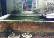 Bé gái 4 tháng tuổi chết bất thường trong hồ cá sau vườn