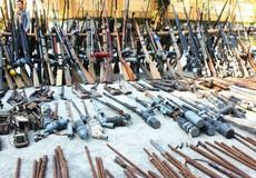 Nghệ An tiêu hủy lượng lớn súng tự chế và vật liệu nổ