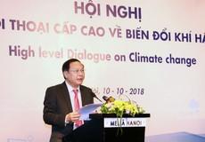 Việt Nam luôn nỗ lực ứng phó với biến đổi khí hậu