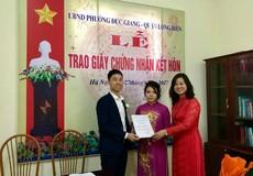 Hà Nội: Nhiều vướng mắc trong xác nhận tình trạng hôn nhân