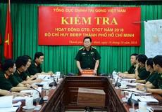 Thượng tướng Nguyễn Trọng Nghĩa biểu dương thành tích của BĐBP TP Hồ Chí Minh