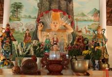 Chiêm ngưỡng Tượng Phật bốn tay lâu đời nhất Việt Nam