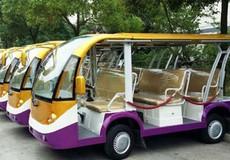 Lâm Đồng thí điểm sử dụng xe chạy năng lượng điện, động cơ xăng chở du khách