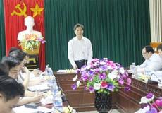 Thứ trưởng Bộ Tư pháp Nguyễn Khánh Ngọc làm việc với Tư pháp, THADS Nghệ An