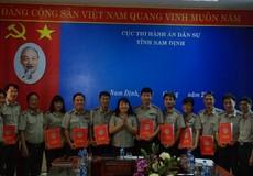 Thi hành án dân sự Nam Định: Tiếp tục đổi mới công tác chỉ đạo, điều hành