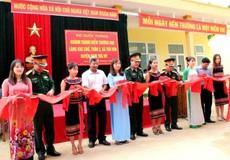 Vùng sạt lở đất Trà Vân ở Quảng Nam có điểm trường mới