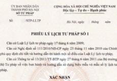 9 tháng, cấp hơn 5 ngàn Phiếu lý lịch tư pháp ở Quảng Ninh