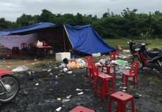 Dựng lều giữa mưa bão số 9, 'con bạc' nhiều tỉnh thành thi nhau sát phạt