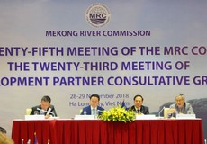 Họp Hội đồng Ủy hội sông Mê Công quốc tế lần thứ 25