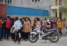 Hà Tĩnh: Hàng trăm công nhân ngưng việc vì chậm lương