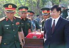 Truy điệu, an táng hài cốt liệt sĩ Việt Nam hi sinh tại Lào