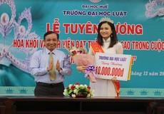 Tuyên dương nữ sinh viên đạt thành tích cao cuộc thi Hoa khôi sinh viên Việt Nam