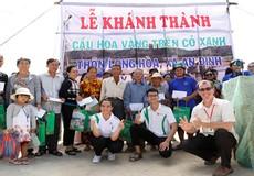 Sinh viên  ĐH Đông Á đóng góp xây cầu 'Hoa vàng trên cỏ xanh'