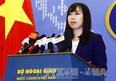 Các hoạt động ở Trường Sa, Hoàng Sa không có sự đồng ý của Việt Nam là bất hợp pháp