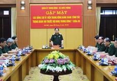 Quân ủy Trung ương - Bộ Quốc phòng gặp mặt các Ủy viên Trung ương Đảng trong quân đội