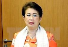 Cho thôi nhiệm vụ ĐBQH với bà Phan Thị Mỹ Thanh