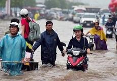 Úng ngập cục bộ tại Hà Nội là... bất khả kháng