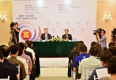 WEF ASEAN 2018 sẽ diễn ra tại Hà Nội