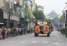 Người Hà Nội tiễn biệt cố Chủ tịch nước Trần Đại Quang về quê hương