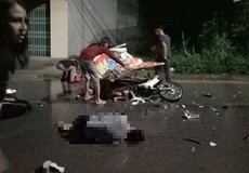 Va chạm giữa 2 xe máy, 7 người thương vong