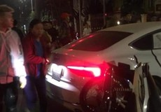 Danh tính tài xế Audi va xe máy khiến 1 người chết giữa Hà Nội