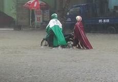 """Thành phố Vinh bị """"cô lập"""" do mưa lớn kéo dài"""