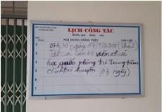 """Hà Nội: Lãnh đạo Ban quản lý dự án đầu tư xây dựng huyện Mỹ Đức có """"be"""" thầu?"""