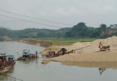 Nhiều bến cát, sỏi hoạt động không phép công khai trên địa bàn Phú Thọ